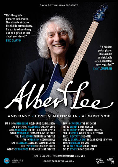 Albert Lee web