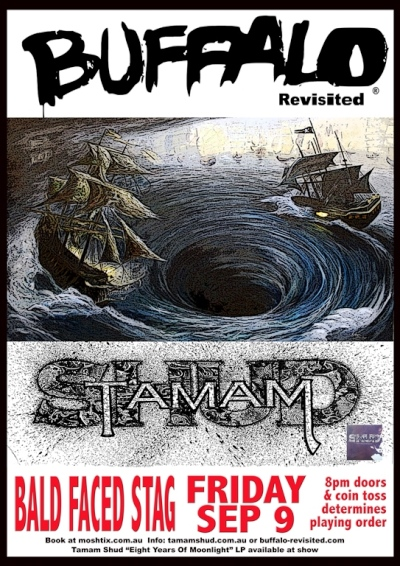 Sydney show for Tamam Shud, Buffalo Revisited | News