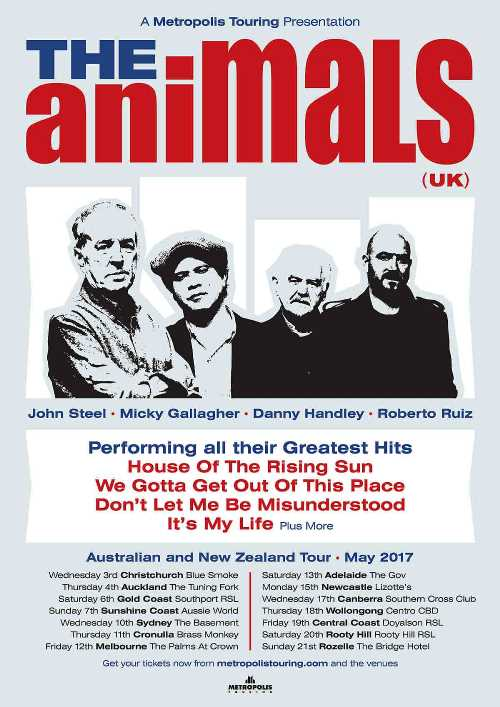 The Animals 2017 poster