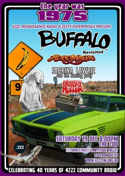 buffalo revisisted brisbane