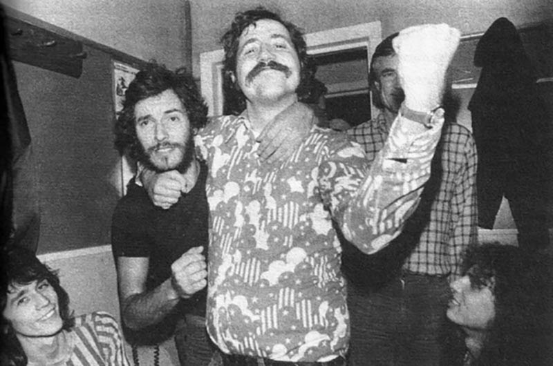 lester bangs and bruce springsteen