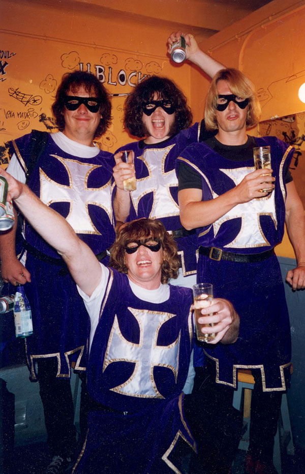 the crusaders backstage