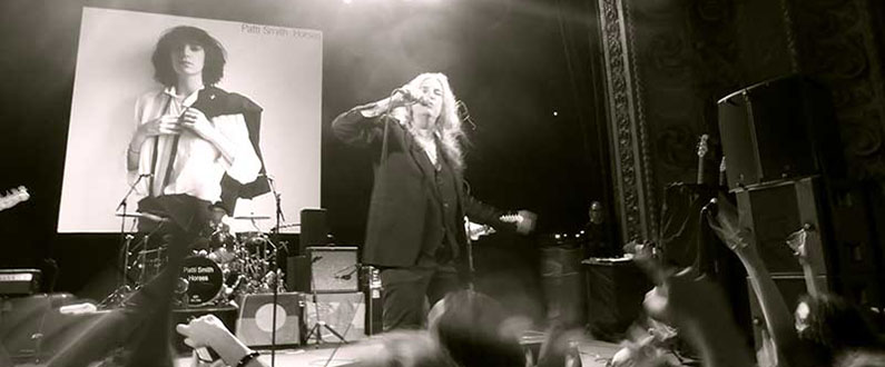 Patti Smith in Sydney